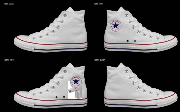 Schuh (Design: 6672 )Converse High