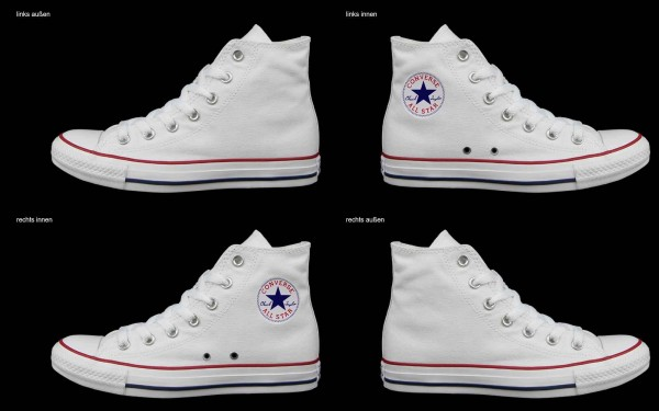 Schuh (Design: 7118 )Converse High