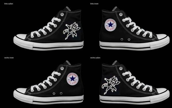 Schuh (Design: 7176 )Converse High