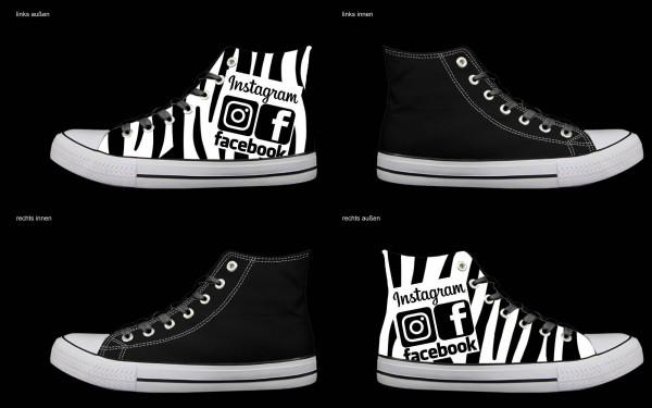 Schuh (Design: 5736 )Sneaker High