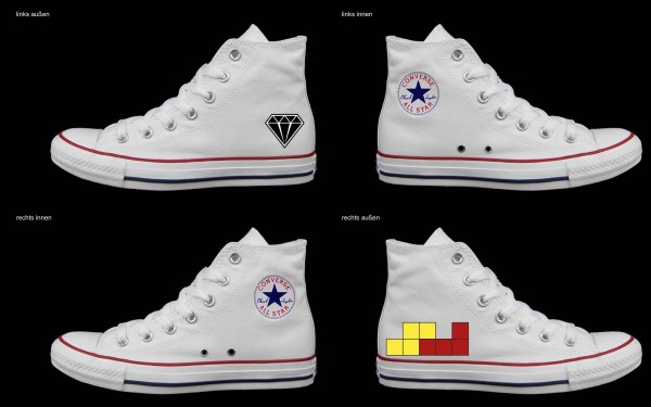 Schuh (Design: 7572 )Converse High