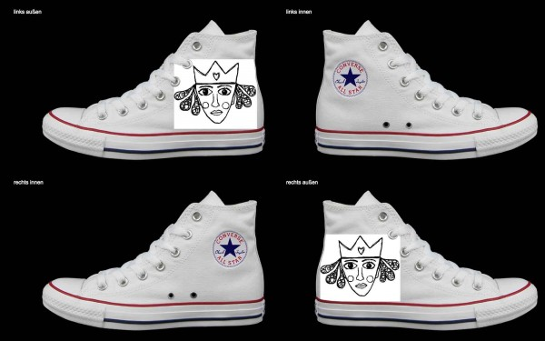 Schuh (Design: 6684 )Converse High