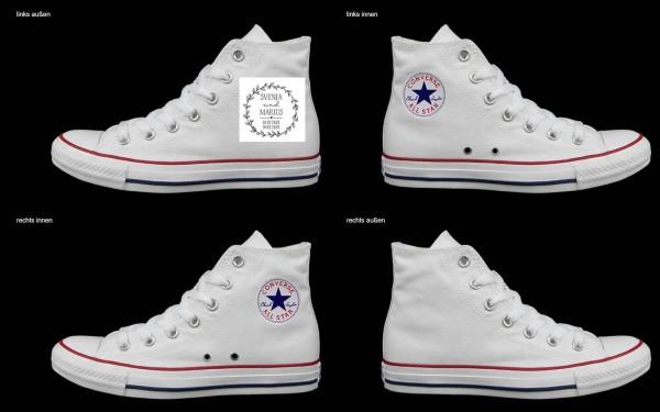 Schuh (Design: 7270 )Converse High