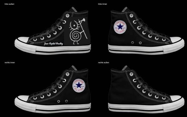 Schuh (Design: 7634 )Converse High