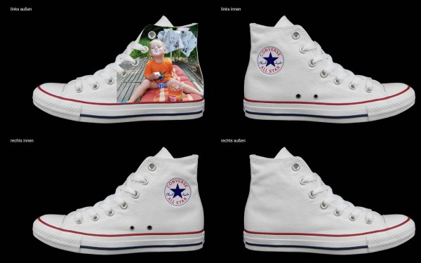 Schuh (Design: 7838 )Converse High