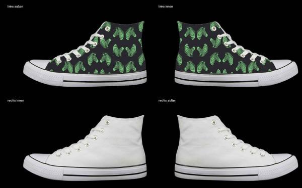 Schuh (Design: 7418 )Sneaker High